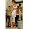 Коррекционные штаны-капри R6265 средней коррекции